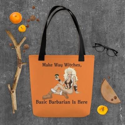 Basic Barbarian Tote bag - Orange