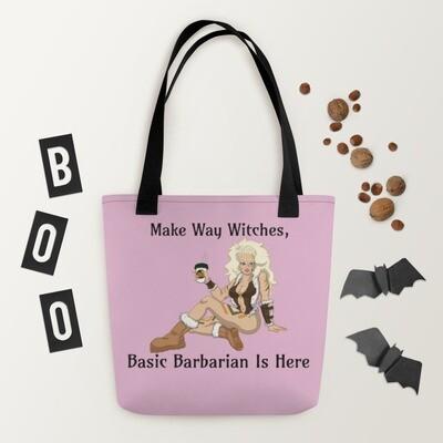 Basic Barbarian Tote bag - Pink
