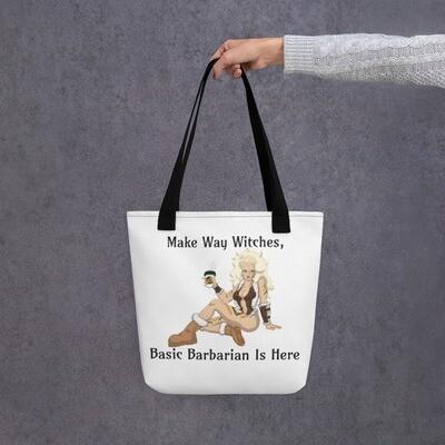 Basic Barbarian Tote bag - White