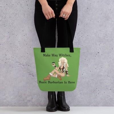 Basic Barbarian Tote bag - Green