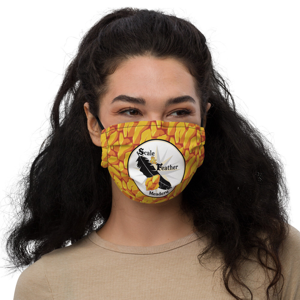 S&F Logo face mask