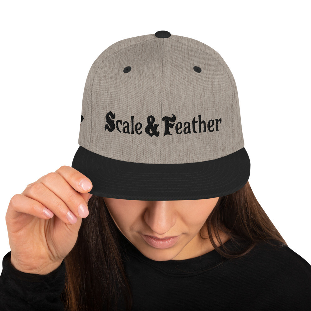Scale & Feather - Snapback Hat