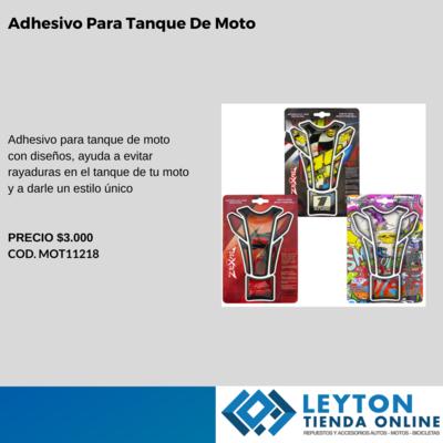 Adhesivo para tanque de moto