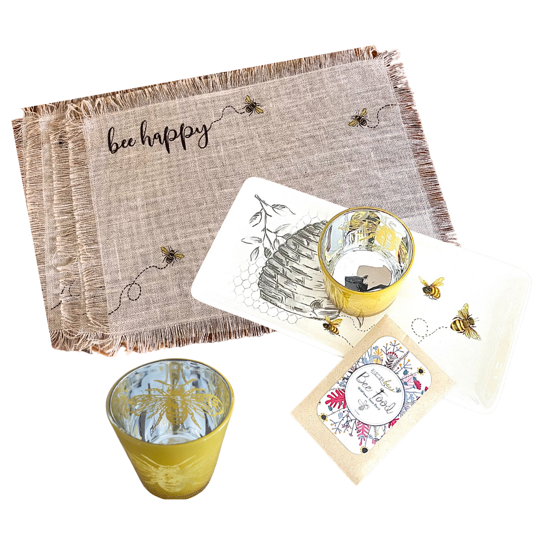 bee happy gift set