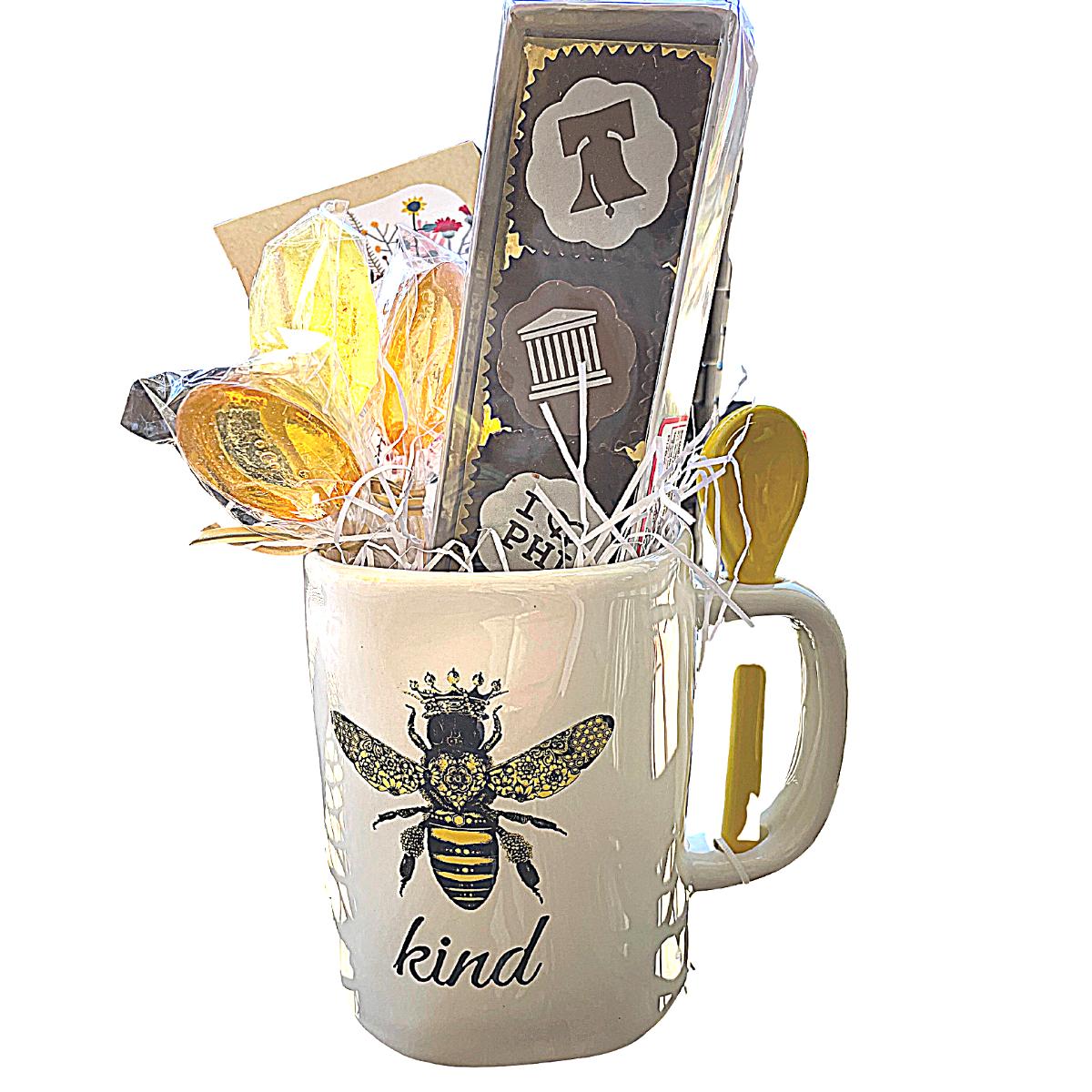bee kind tea gift set