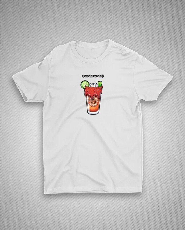 Michelada White Shirt (Mee-chill-ah-dah)