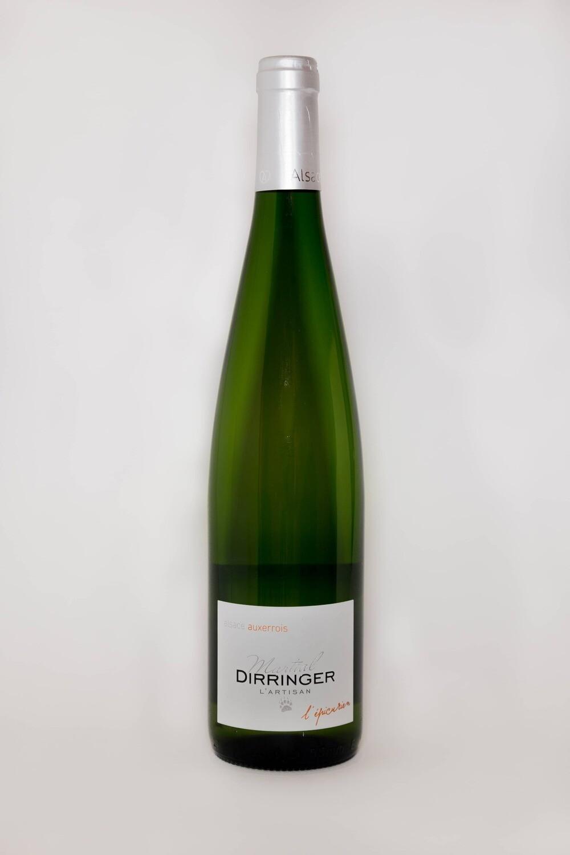 Vin blanc d'Alsace: Auxerrois 2017  - L'épicurien