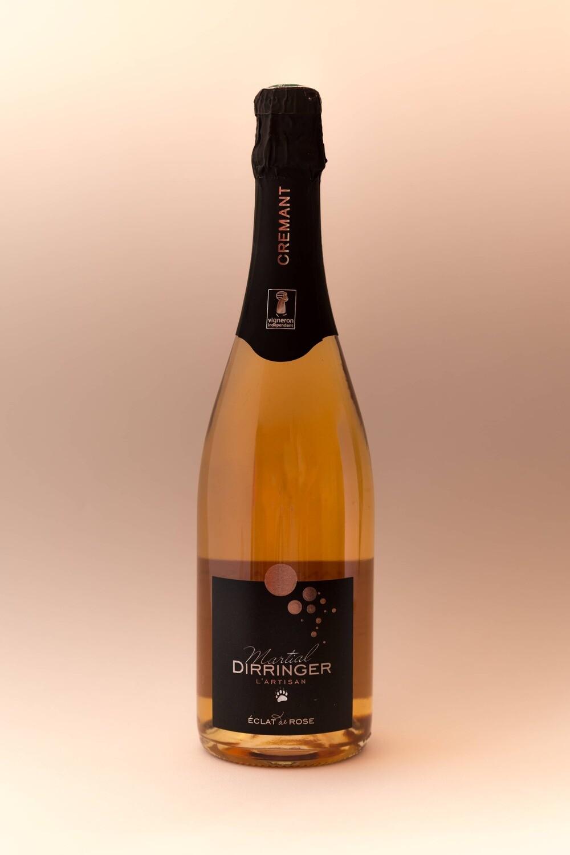 Crémant d'Alsace brut rosé (vin effervescent) -
