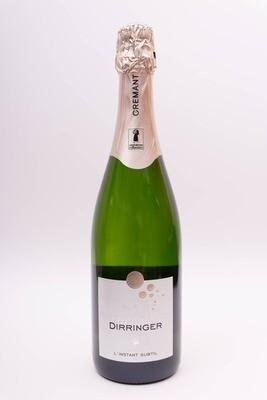 Crémant d'Alsace blanc - vin effervescent brut - L'Instant Subtil