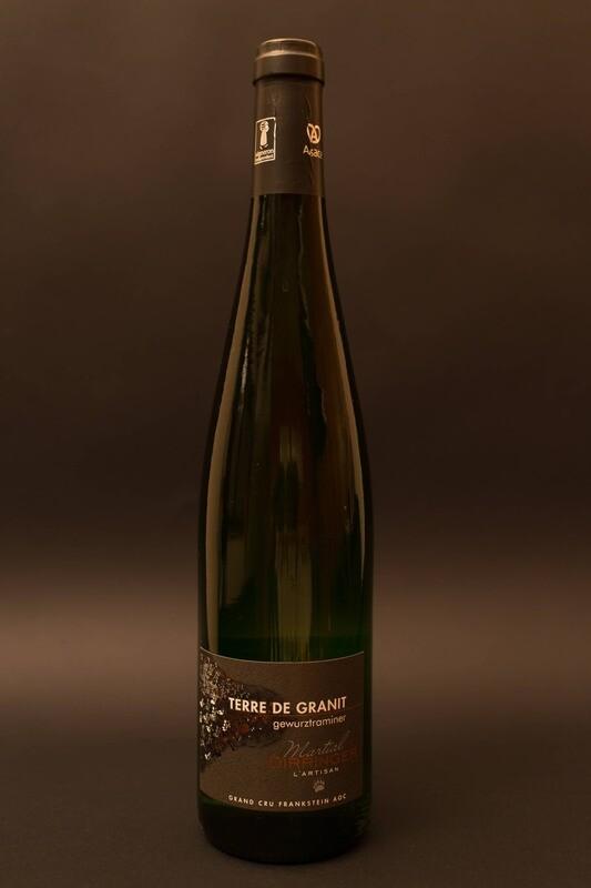 Vin blanc d'Alsace Gewurztraminer 2016, Grand Cru Frankstein