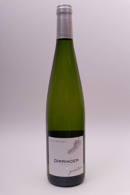 Vin blanc d'Alsace demi-sec - Pinot gris 2017