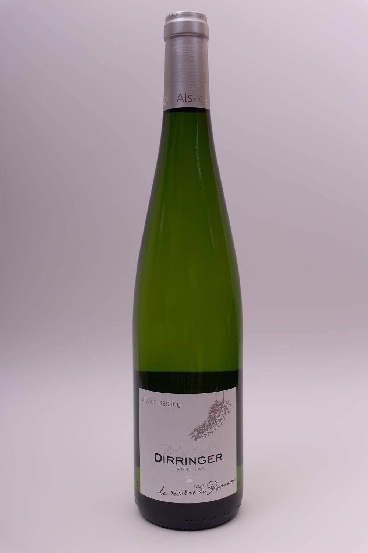 Vin blanc sec d'Alsace AOC Riesling 2016 - Réserve de Romane