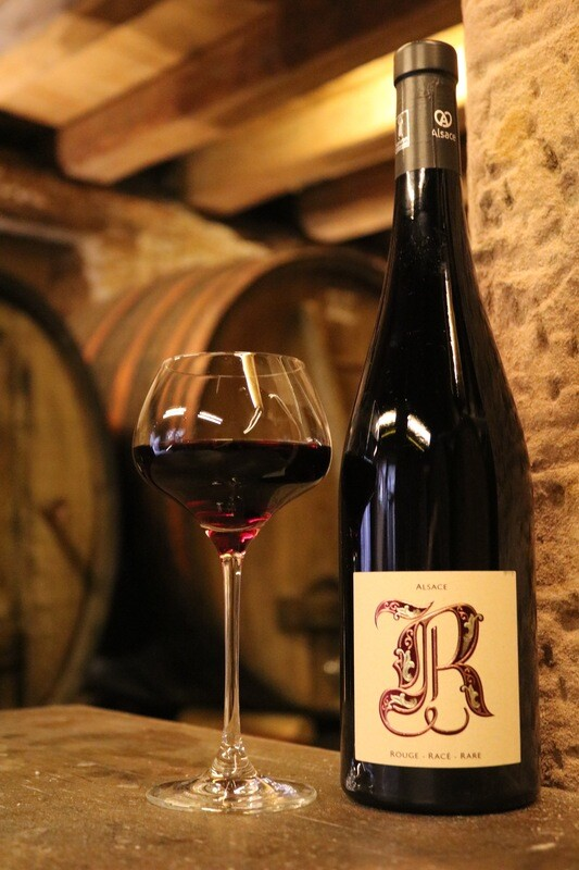 Vin Rouge d'Alsace : Pinot Noir Rouge, Racé, Rare (2016)