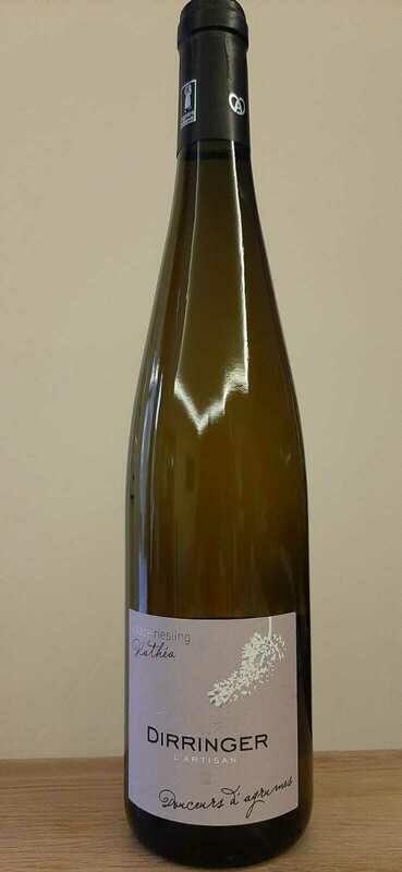 Vin blanc moelleux d'Alsace, Riesling 2018