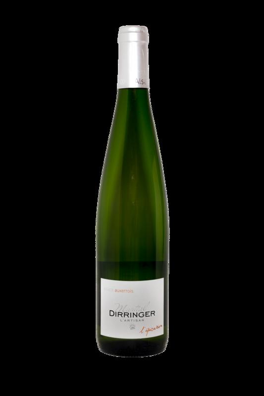 Vin blanc d'Alsace: Pinot Auxerrois 2017  - L'épicurien