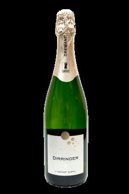 Crémant d'Alsace brut - vin effervescent de qualité (L'Instant Subtil)