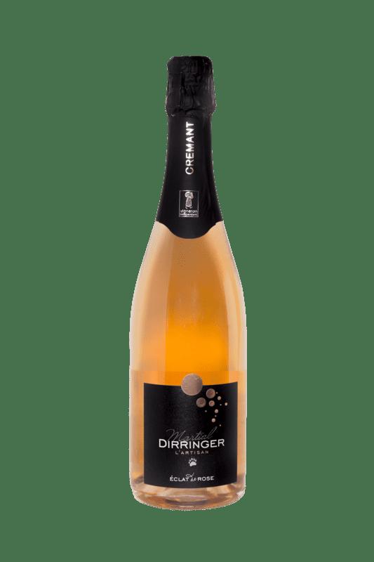 Crémant d'Alsace brut vin effervescent, Pinot noir rosé