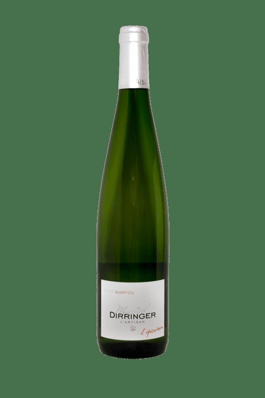 Pinot Auxerrois 2017, vin blanc sec d'Alsace