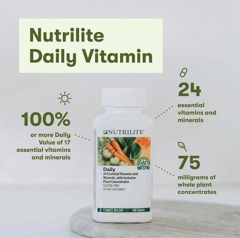 NUTRILITE Daily - 60 tablets