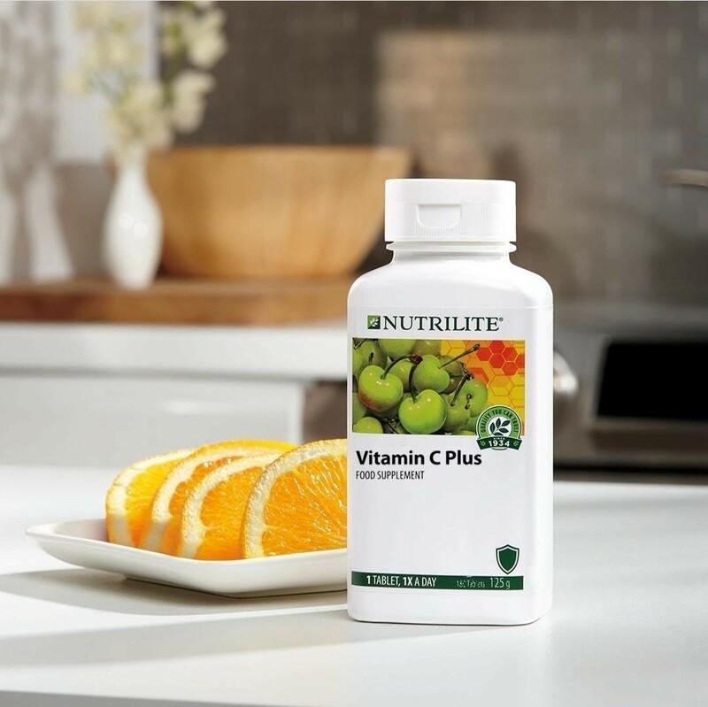 Nutrilite Vitamin C Plus (Extended Release) - 60 tablets