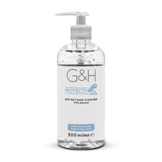 G&H INSTANT HAND CLEANSER - 70% Alcohol (500ml)