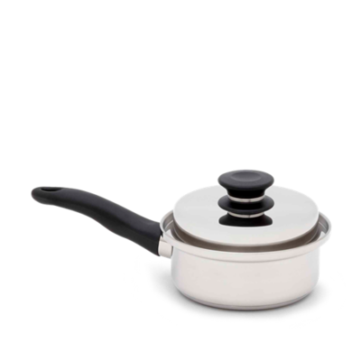 iCOOK 1 Litre Sauce Pan And Lid (2 Pieces)