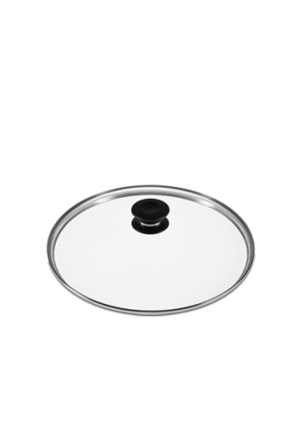iCOOK Glass Lid with Knob 12 Inch Assembly