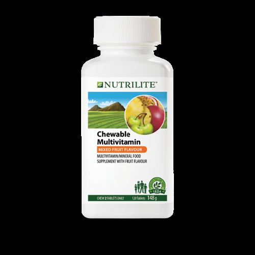 NUTRILITE Chewable Multivitamin - 120 tablets