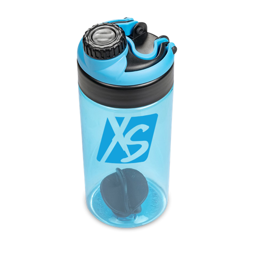 XS 2-in-1 Water Bottle Protein Shaker