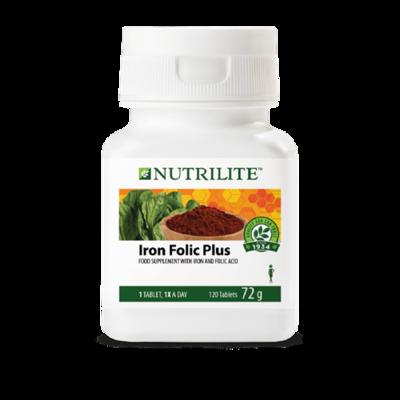 NUTRILITE™ Iron Folic Plus - 120 tablets