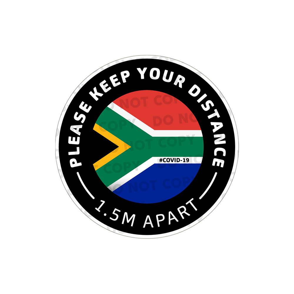 SD South African Stickers 300mm (Pack of 10)