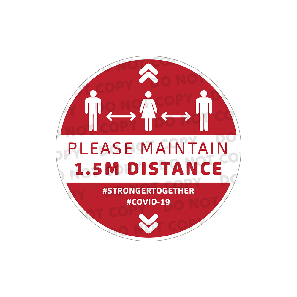 SD Maintain 1.5m Stickers 400mm (Pack of 10)