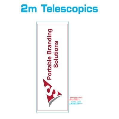2m Telescopic