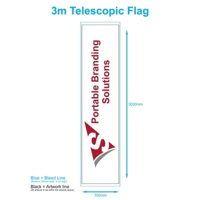 3m Telescopic
