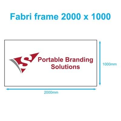 Fabri Frame 2m x 1m