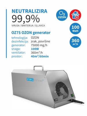 OZ 75 OZON generator 100W 00010