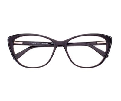 Okulary Frame Black 133 006 oprawka oraz najwyższej jakości soczewki STANDARD PLUS