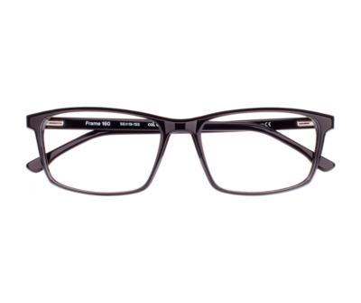 Okulary Frame Black 160 006 oprawka oraz najwyższej jakości soczewki STANDARD PLUS
