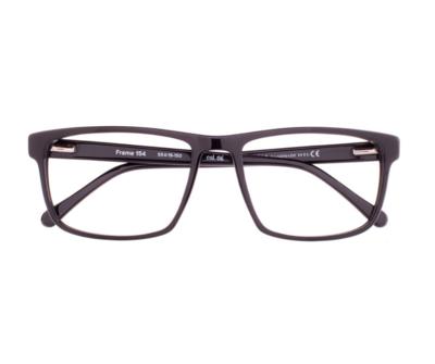 Okulary Frame Black 154 006 oprawka oraz najwyższej jakości soczewki STANDARD PLUS