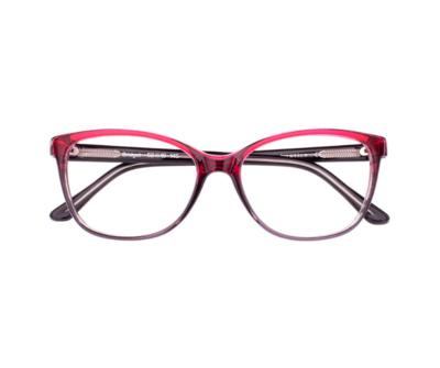 Okulary Bridget Red 2281 oprawka oraz najwyższej jakości soczewki STANDARD PLUS
