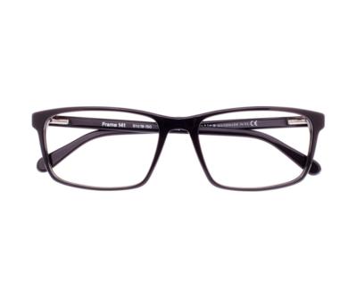 Okulary Frame Black 141 006 oprawka oraz najwyższej jakości soczewki STANDARD PLUS
