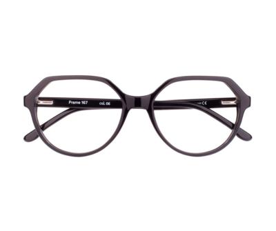 Okulary Frame Black 167 006 oprawka oraz najwyższej jakości soczewki STANDARD PLUS