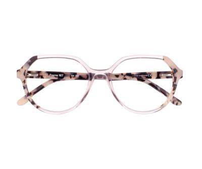 Okulary Frame Animal Pink 167 231 oprawka oraz najwyższej jakości soczewki STANDARD PLUS