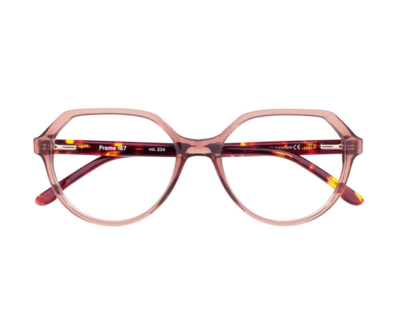 Okulary Frame Animal Red 167 234 oprawka oraz najwyższej jakości soczewki STANDARD PLUS