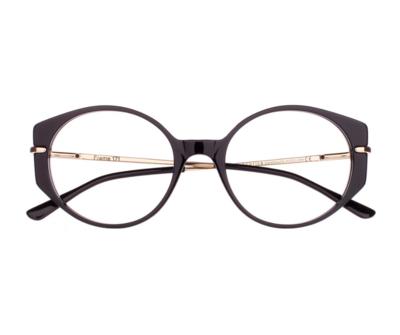 Okulary Frame Black 171 185 oprawka oraz najwyższej jakości soczewki STANDARD PLUS
