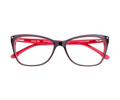 Okulary Frame Red&Black 159 023 oprawka oraz najwyższej jakości soczewki STANDARD PLUS