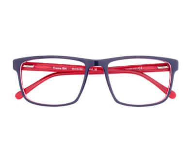 Okulary Frame Navy Blue 154 026 oprawka oraz najwyższej jakości soczewki STANDARD PLUS
