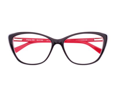 Okulary Frame Red 133 023 oprawka oraz najwyższej jakości soczewki STANDARD PLUS