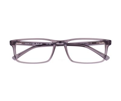 Okulary Frame Transparent Brown 130 100 oprawka oraz najwyższej jakości soczewki STANDARD PLUS