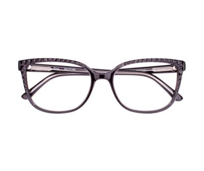 Okulary Gina Black 0010 oprawka oraz najwyższej jakości soczewki STANDARD PLUS
